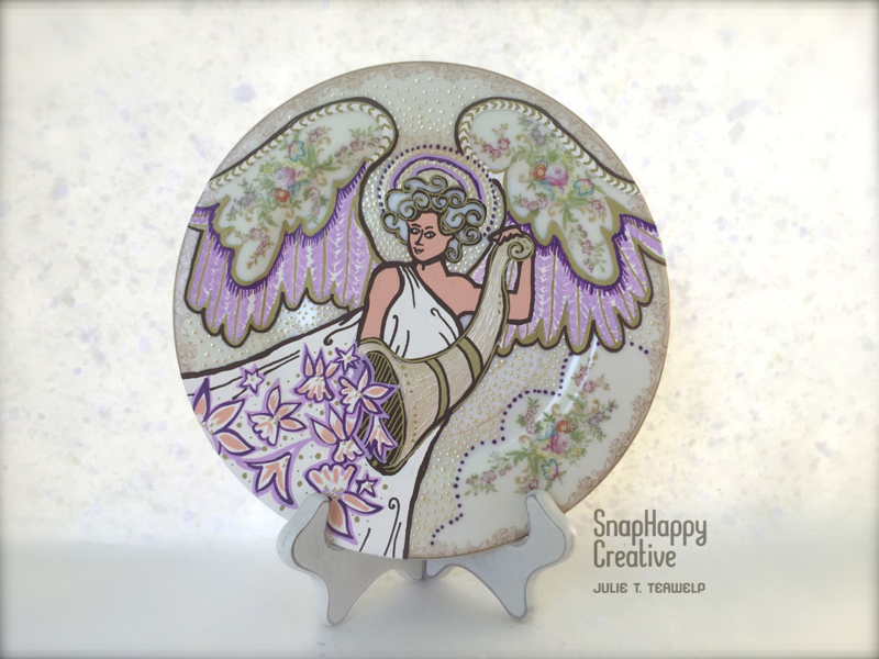 Flowering Angel by Julie Terwelp/SnapHappy Creative