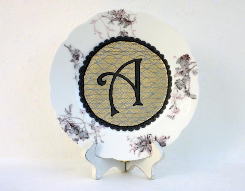 Monogram A plate: © Julie Terwelp/SnapHappy Creative
